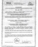 Protipoziarny certifikat